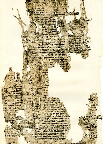 Chariton - A second or third century AD papyrus of the Callirhoe from Karanis (P.Fay. 1)