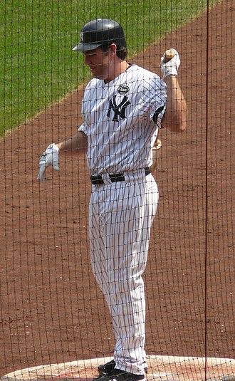 Lance Berkman - Berkman during his tenure with the New York Yankees in 2010