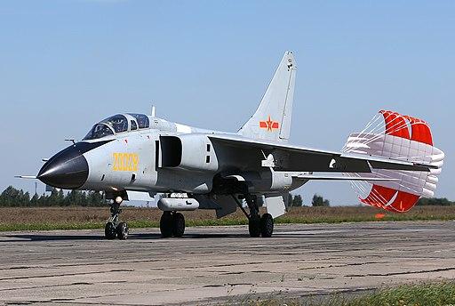 PLAAF Xian JH-7A at Chelyabinsk Shagol Air Base