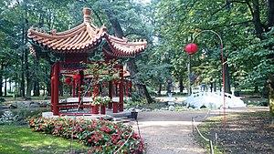 Łazienki Park - Chinese garden