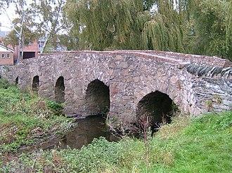Anstey, Leicestershire - Packhorse Bridge, Anstey