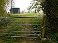 Padlocked gate on footpath, Inkberrow - geograph.org.uk - 1275149.jpg