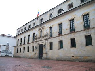 Ministry of Foreign Affairs (Colombia) - Image: Palacio de San Carlos