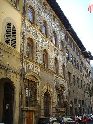 Bianca Cappello - Palazzo di Bianca Cappello in Florence.