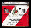 Pall-Mall red and white cigarettes tin, back.JPG