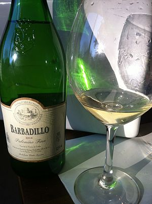 Palomino (grape) - A non-fortified dry white wine made from Palomino in the Andalusia region of Spain.