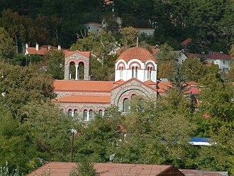 Platres - Image: Panayia Faneromenis Holy Church