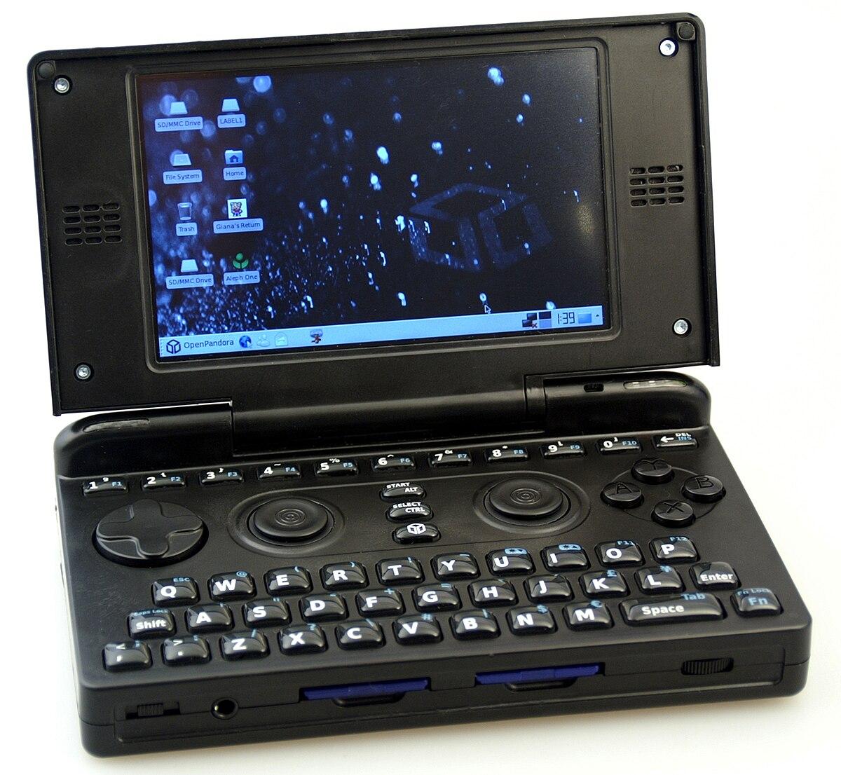pandora console wikipedia