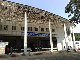 Panvel railway station - Panvel Railway Station - Suburban entrance