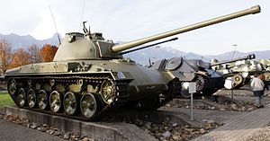 Panzer 58 in Thun