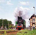 Parade of steam locomotives in Wolsztyn (1994) TKt48 143.jpg