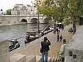 Paris 75006 Port de Conti Pont Neuf et Marie-Jeanne III.jpg