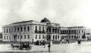 Parliament Building, Guyana - Parliament Buildings in the 19th century