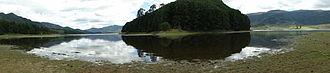 Cogua - Panorama of the Neusa Reservoir, Cogua