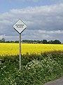 Passing place, Oxmardyke - geograph.org.uk - 806949.jpg