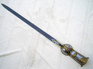 Pata (sword) South Asian sword