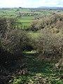 Path down Crimson Hill - geograph.org.uk - 353820.jpg