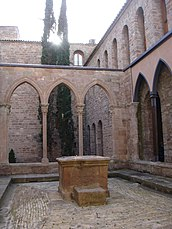 Pati ducal del castell de Cardona.JPG