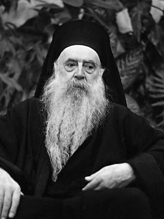Athenagoras I of Constantinople - Patriarch Athenagoras I in 1967