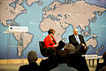 Patricia Lewis, left, the research director for international security relations and defense policy at Chatham House, moderates a question-and-answer forum with U.S. Army Chief of Staff Gen. Raymond T. Odierno 120606-A-AO884-020.jpg
