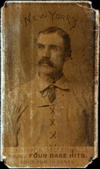 Patrick Gillespie (baseball) - Image: Patrick Gillespie 1887