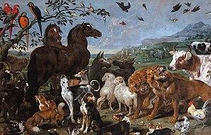 Antwerp school - Paul de Vos, Ark van Noah