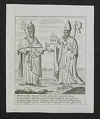 Pope Cornelius and Saint Ghelyn