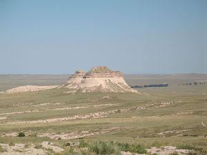 Pawnee National Grassland - The Pawnee Buttes in Pawnee National Grassland
