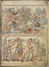 Sketch of the Battle of Bannockburb