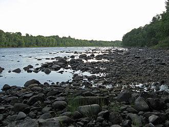 Marsh Island (Maine) - Penobscot River from Marsh Island