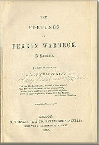 The Fortunes of Perkin Warbeck cover
