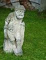 Pernštejn, okres Brno-venkov, 2013, sochy na nádvoří (1).JPG