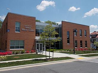 Washington Adventist University - Peters Music Center