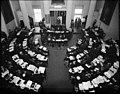 PhC 48 10x10 negative NC House of Representatives, Interior of Chamber at Capitol, Elevated View, 1941 (15732992576).jpg
