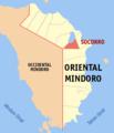 Ph locator oriental mindoro socorro.png