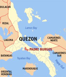 Padre Burgos, Quezon Municipality in Calabarzon, Philippines