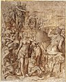 Pharaoh Receiving Jacob into Egypt, ca. 1551–53.jpg