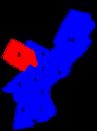 Philadelphia city council districts 1955.png