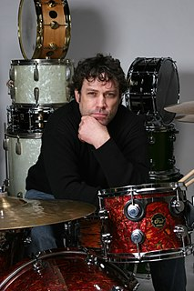 Phillip Rhodes American rock drummer and percussionist