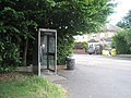 Phonebox at the junction of Larchwood Drive and Kingsley Avenue - geograph.org.uk - 1356180.jpg