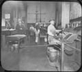 Photograph of several San Francisco Mint employees working at the Deposit Melting Furnaces - NARA - 296571.tif