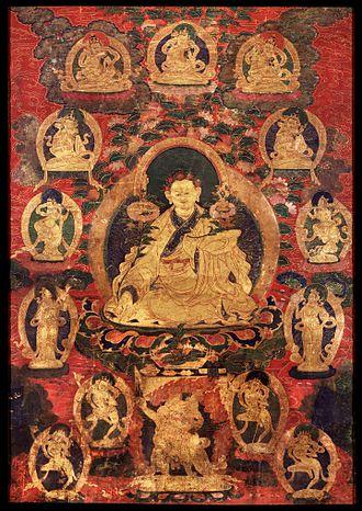 Yuthog Yontan Gonpo - Portrait of Yuthog Yönten Gönpo