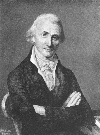 Physicist Pierre Prévost