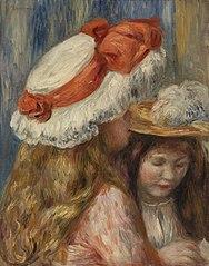 Girls with Hats (Jeunes filles aux chapeaux)