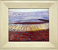 Piet mondrian, il mare dopo il tramonto, 1909.jpg