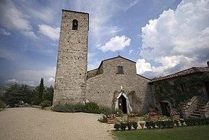 Gaiole in Chianti - Pieve of Santa Maria in Spaltenna