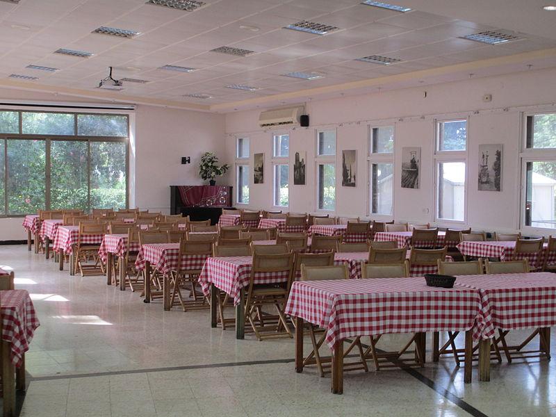 חדר האוכל ברמת הכובש