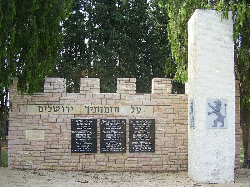 אנדרטה לנופלים במערכות ישראל בצור משה
