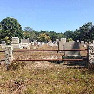 Pine Grove Cemetery (Truro, Massachusetts) - Image: Pine Grove Cemetery Truro, Ma