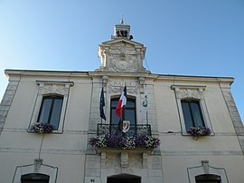 The town hall of Pipriac